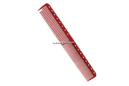 Y.S. Park 331 Super Long Cutting Comb (Red)