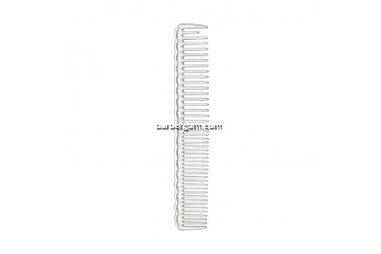 Y.S Park 338 Quick Cutting Comb with Grip (White)