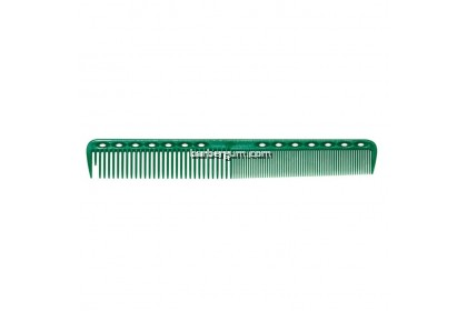 Y.S Park 337 Round Tooth Cutting Comb (Green)