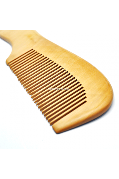 Japanese Wooden Comb (Round)